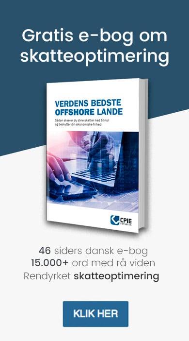 Gratis dansk e-bog om skatteoptimering og verdens bedste offshore lande