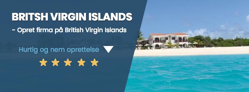 BVI firma på British Virgin Islands