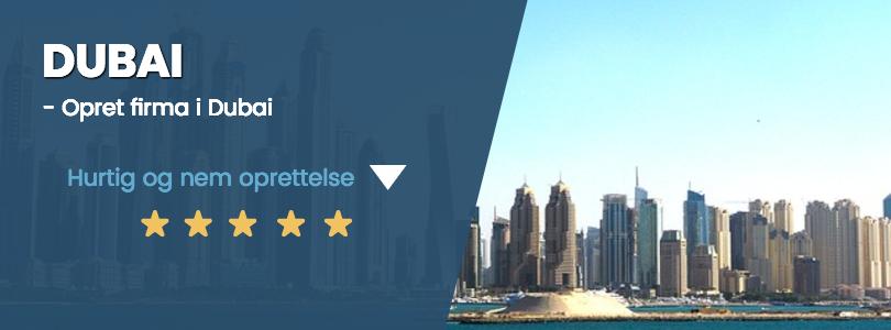 Dubai firma oprettelse og priser