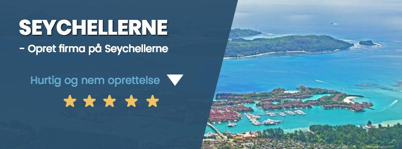 Firma på seychellerne til super pris