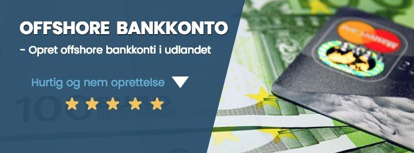 Offshore bankkonto i udlandet