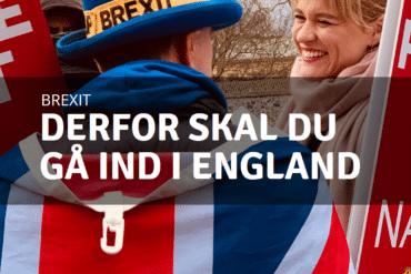 Hårdt eller blødt Brexit: Derfor bør du gå ind i England netop nu