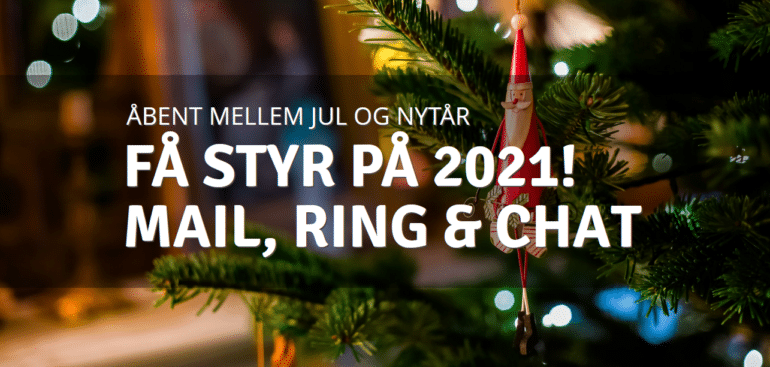 Åbningstider mellem jul og nytår hos CPIE Services
