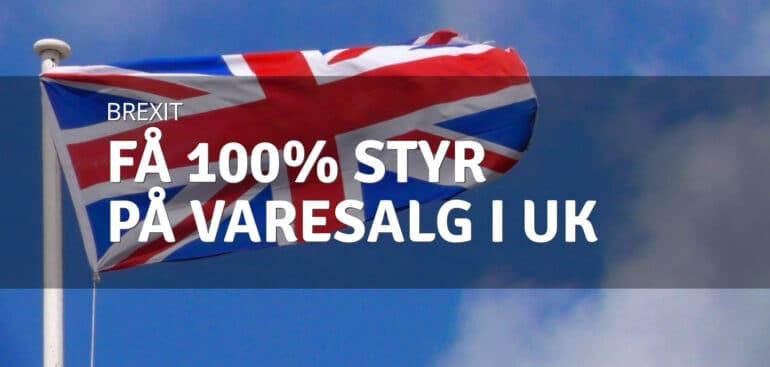 100% styr på varesalg i UK